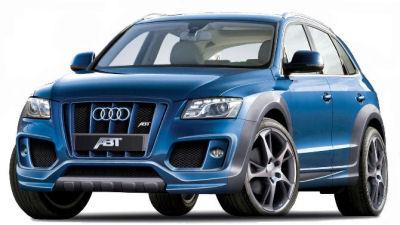 La préparation des SUV compacts premium occupe les différents préparateurs automobiles. ABT s'est attaché à rendre l'Audi Q5 plus agressif, avec notamment une calandre barrée de renforts verticaux imposants. Les puissances des motorisations sont également en hausse.
